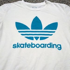 Adidas Skateboarding Crewneck Graphic T-Shirt (S)